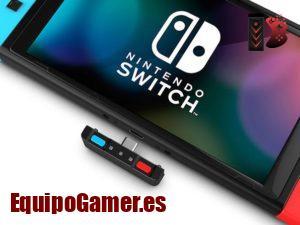 Adaptadores Bluetooth para Nintendo Switch, usa tus cascos!