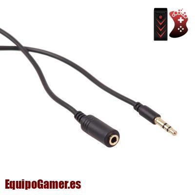 alargadores de cable para auriculares