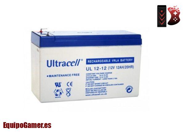 baterías de 12v y 12ah