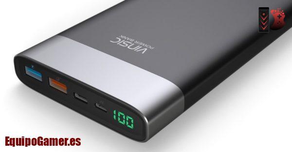 baterías externa de Carrefour