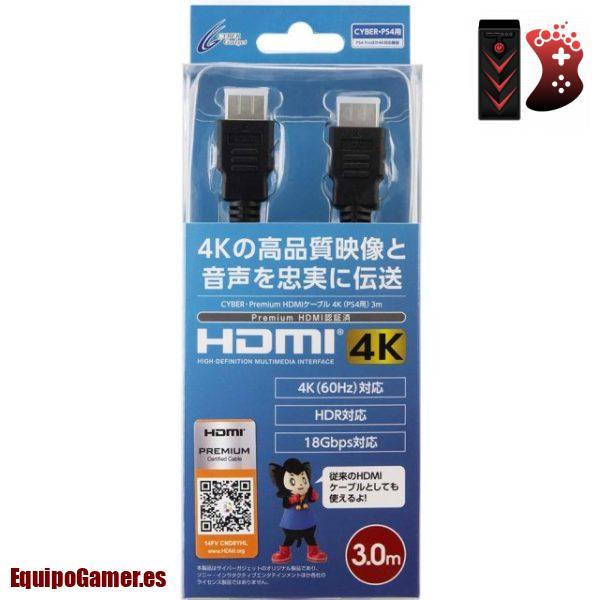 cables HDMI premium para PS4 Pro