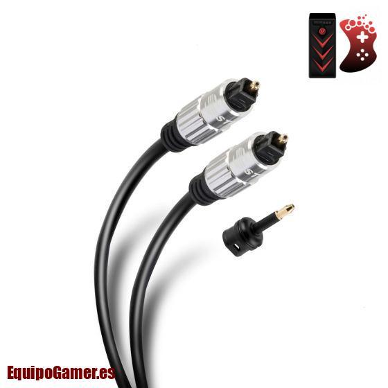 cables ópticos de audio digital