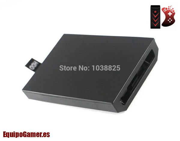 carcasas de disco duro para Xbox 360 Slim