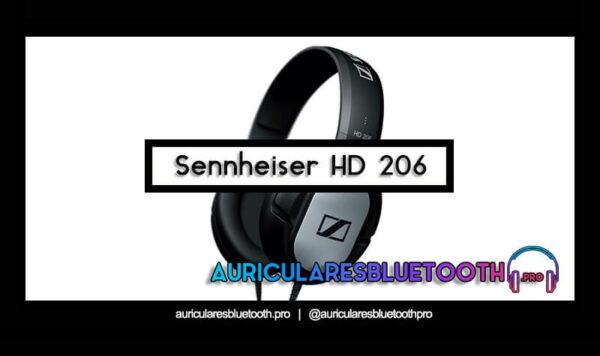 cascos Sennheiser hd 206