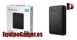 Catálogo con los discos duros externos WD con mejor calidad precio