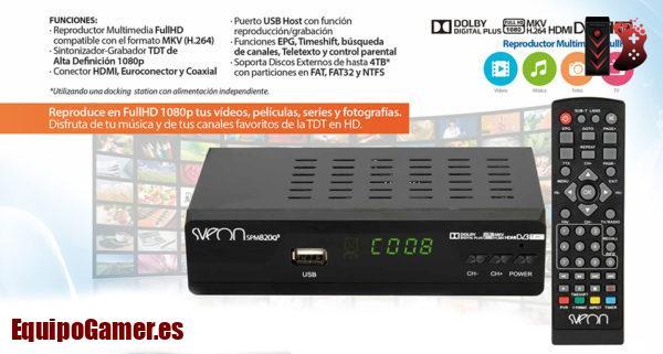 discos duros multimedia grabadores con TDT de El Corte Ingles