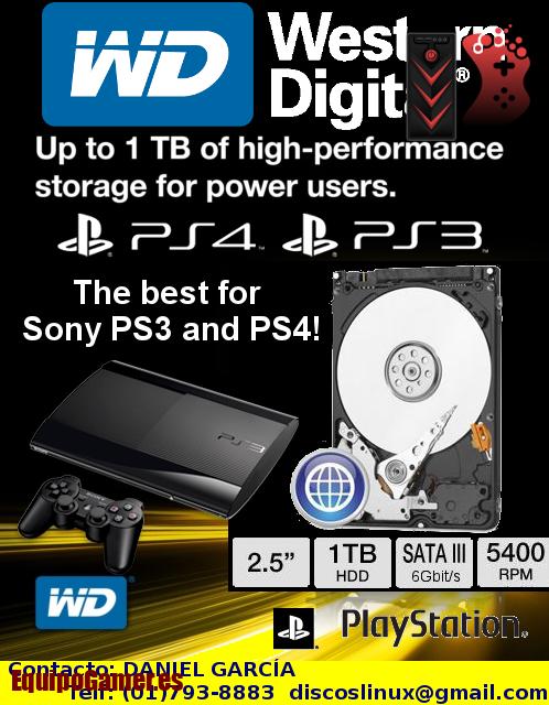 discos duros para PS3 Super Slim