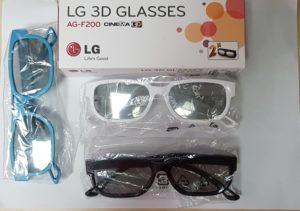Las gafas 3d LG más vendidas del año
