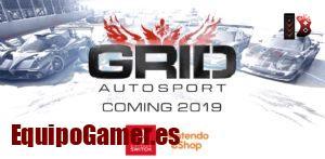 Grid Autosport para Switch, conducción multijugador!