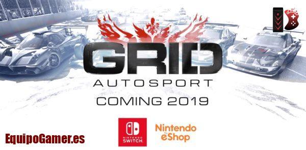 Grid Autosport para Switch