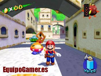 Mario Sunshine para Switch