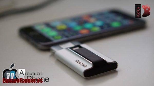 memorias externas para Iphone