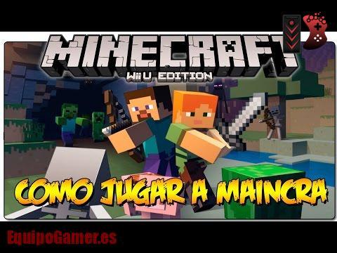 Minecraft para Wii U de Game