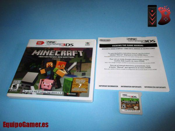 Minecraft para 3DS