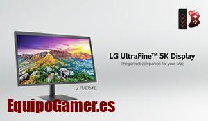 Los 10 monitores Ultrafine 5K de LG más solicitados de internet