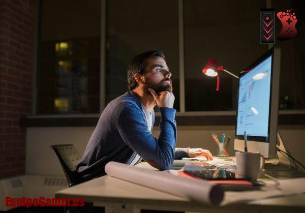 monitores que no dañen la vista