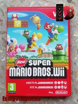 New Super Mario Bros Wii Pal
