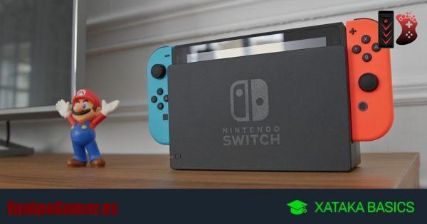 Nintendo Switch de El Corte Inglés