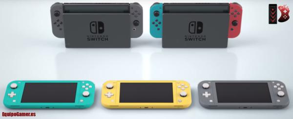 Nintendo Switch Lite de El Corte Inglés