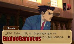 Catálogo de los Phoenix Wright para 3DS en español favoritos de los clientes