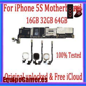 Nuestro catálogo con las mejores placas base para Iphone 5S libres