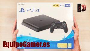 Catálogo de Playstation 4 Slim Media Markt con promoción