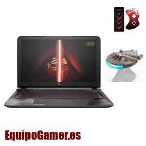 Nuestra gama de portátiles HP de Star Wars para los que saben elegir