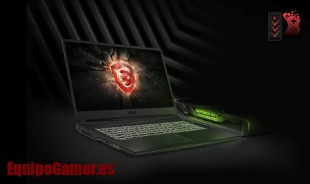 portátiles gamer MSI GL75