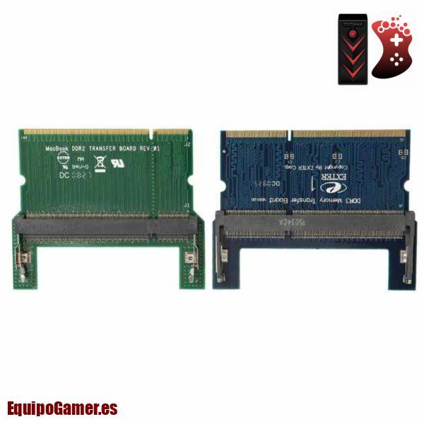 memorias RAM DDR2 para portátil
