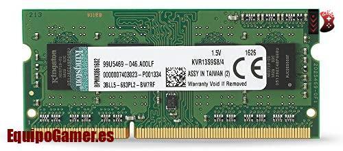 memorias RAM DDR3 de 4GB para portátil