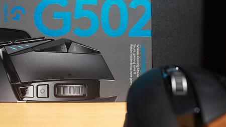 ratón Logitech g502 lightspeed