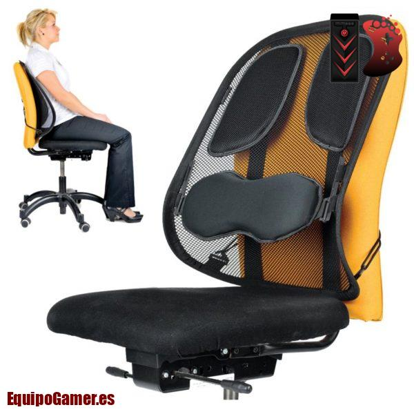 respaldos lumbares para silla