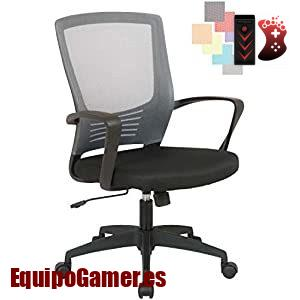 Listado de sillas de oficina CLP Fire con precios rebajados