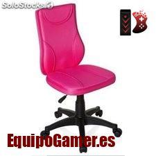 Catálogo de sillas rosas para escritorio en oferta