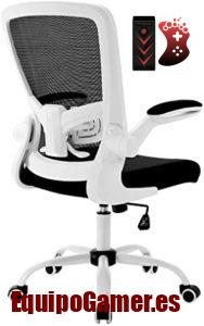 Gama de sillas para oficina de Conforama con las mejores prestaciones