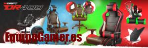Selección de promociones para sillas Drift DR400