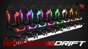 Recopilación de sillas Drift DR300 con buenas reseñas
