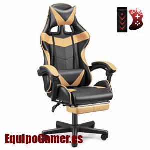 Catálogo de sillas Gaming F12 con promoción