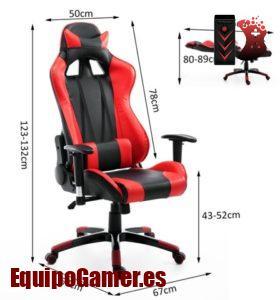 Las 20 sillas Gaming LC preferidas por nuestros visitantes