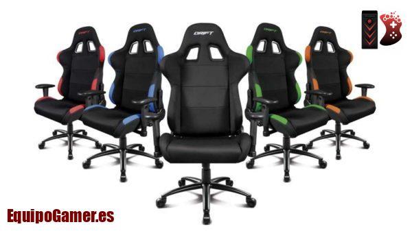 sillas Gaming de tela