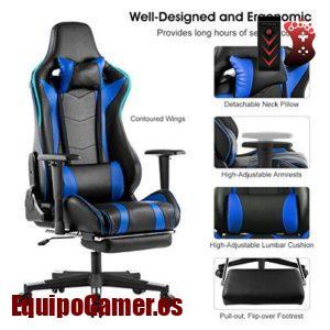 Gama de sillas gaming Langria con buena relación calidad calidad