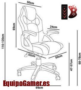 Las 10 sillas Gaming Mchaus más baratas para este 2020