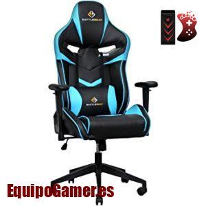 Catálogo de sillas de youtuber con promoción