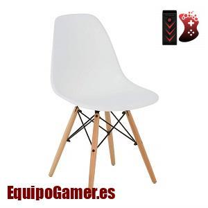 silla de oficina sin ruedas de Ikea