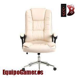 sillas de oficina Stanford blancas