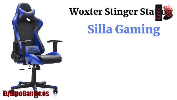 sillas Gaming Stinger Station en Woxter