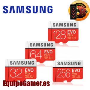 Listado de tarjetas de memoria para Samsung J3 con precios rebajados
