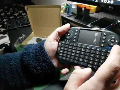 teclado inalambrico con touchpad