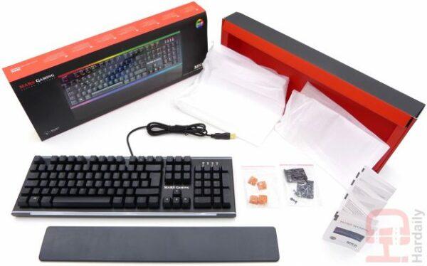 teclado mars gaming mk6