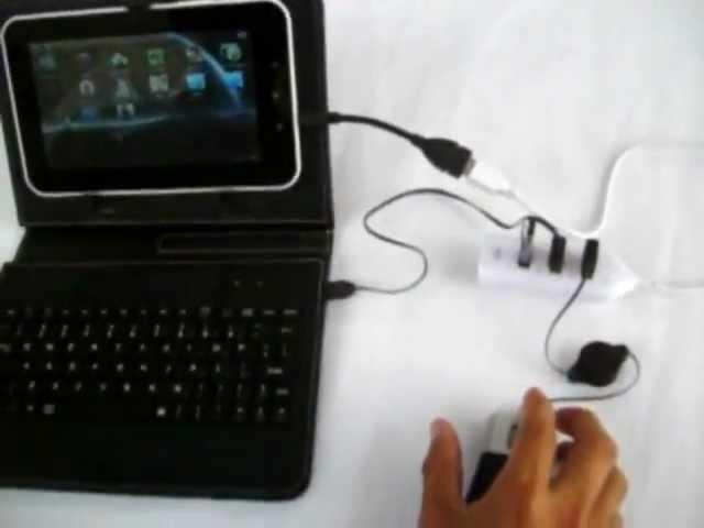 teclado y raton para tablet